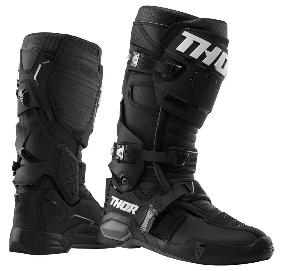 THOR Radial boots in black