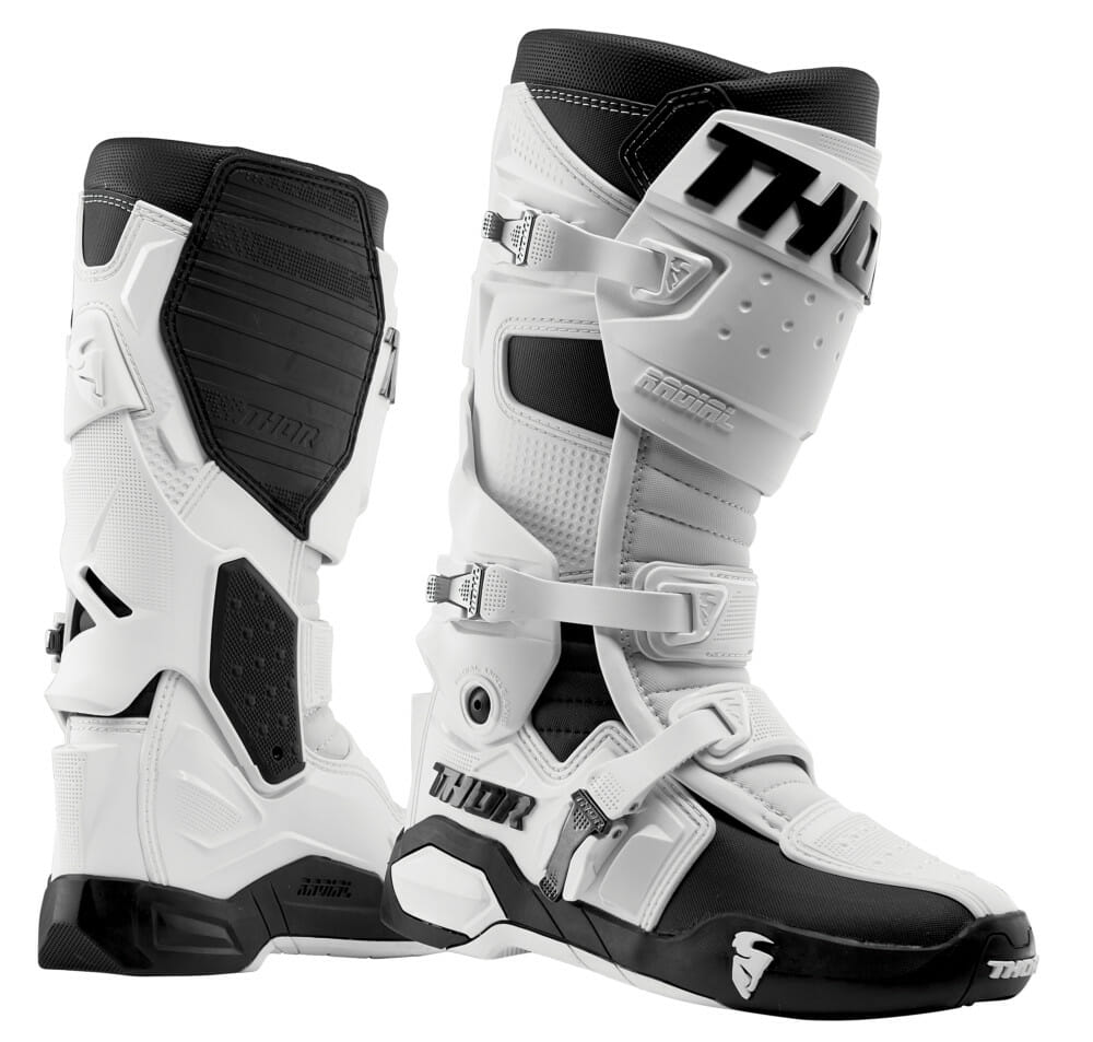 THOR Radial boots in white