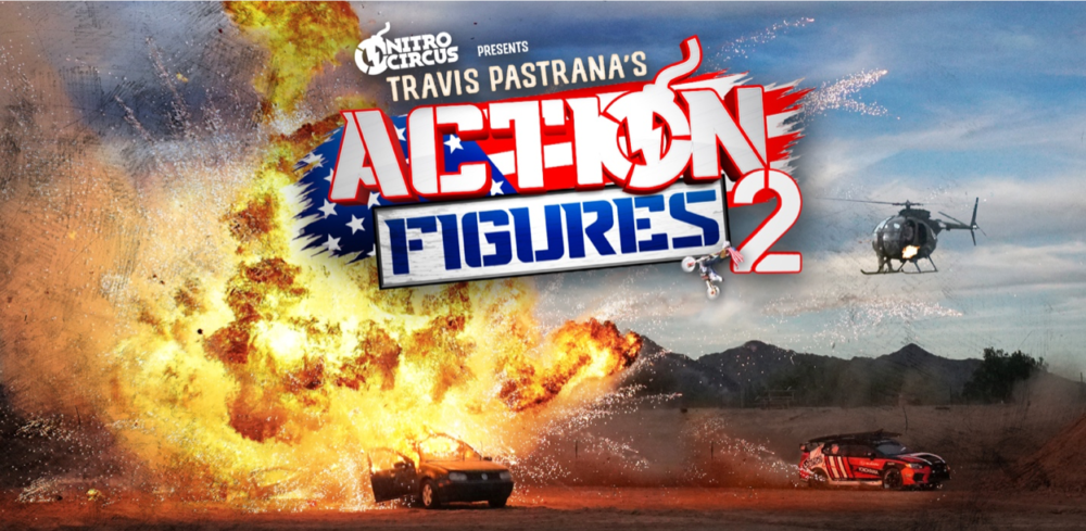 Travis Pastrana's Action Figures 2 Now Available