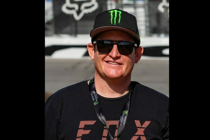 Ricky Carmichael has taken Jeff Emig's place alongside Ralph Sheheen to do the television announcing for the 2019 Monster Energy/AMA Supercross Series on NBC Sports.