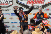 Steward Baylor Wins Wild Board GNCC