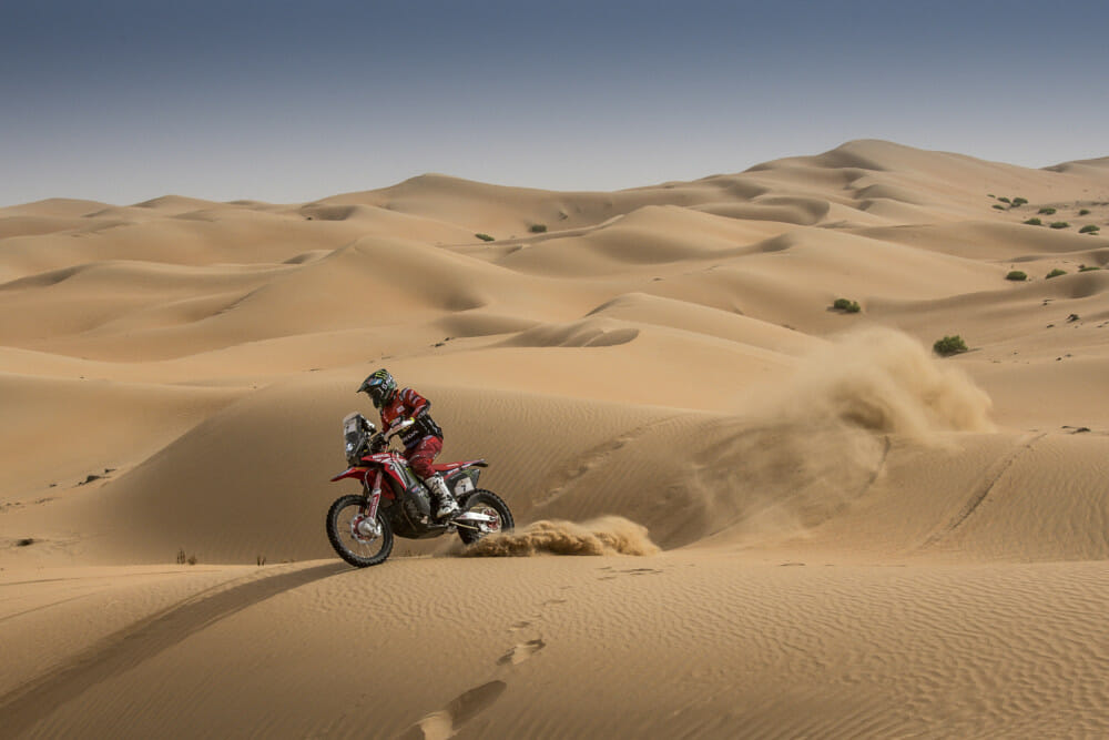 Monster Energy Honda with the 2020 Dakar Rally in Saudi Arabia