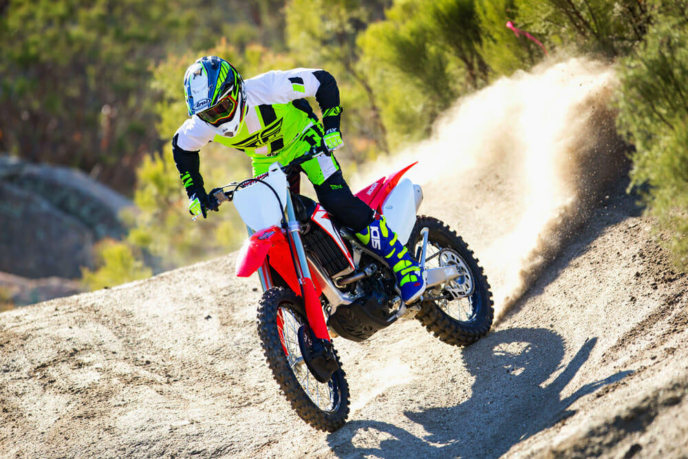 Cycle News reviews the 2019 Honda CRF250RX.