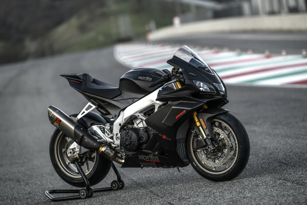 Cycle News' Rennie Scaysbrook reviews the 2019 Aprilia RSV4 1100 Factory in Mugello.