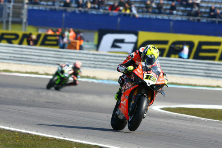 2019 Assen World Superbike Results Bautista wins race two