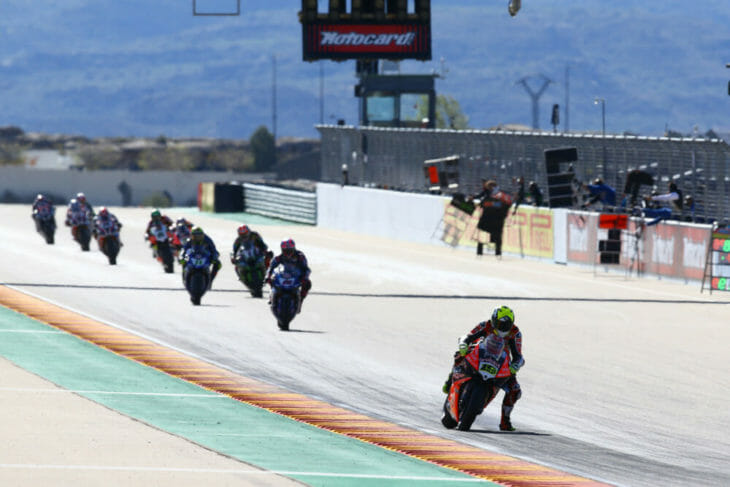 2019 Spanish World Superbike Results Bautista Wins results Superpole race