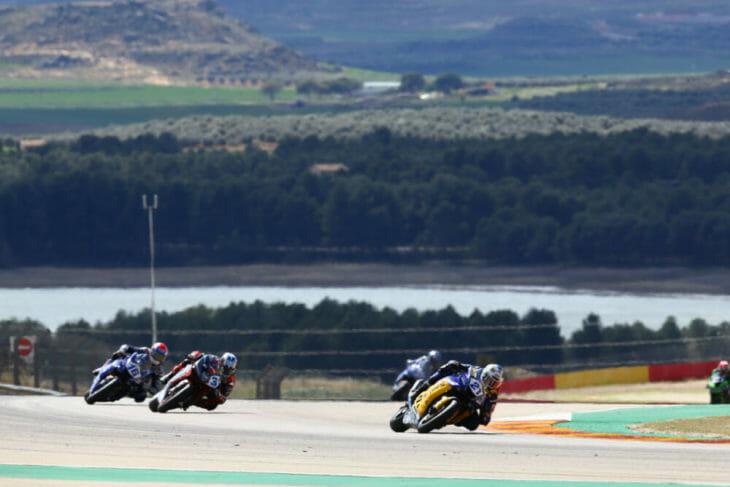 2019 Spanish World Superbike Results Krummenacher Wins results