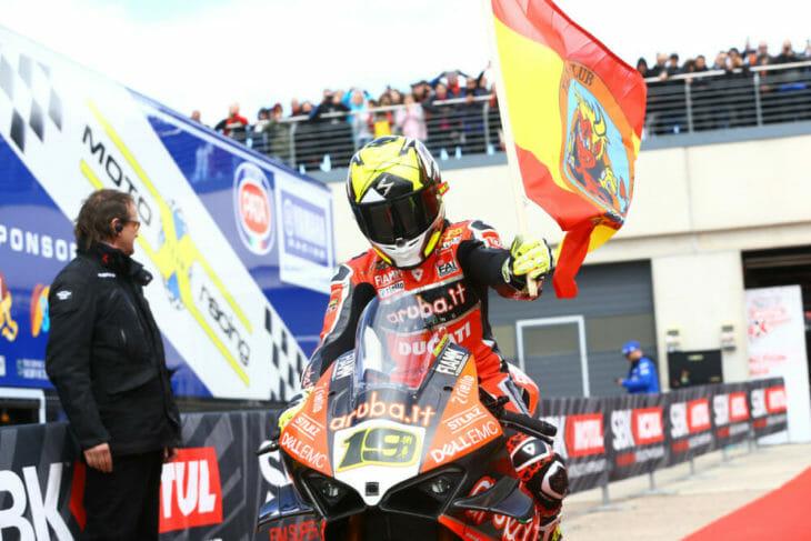 2019 Spanish World Superbike Results—WorldSBK Race One Bautista