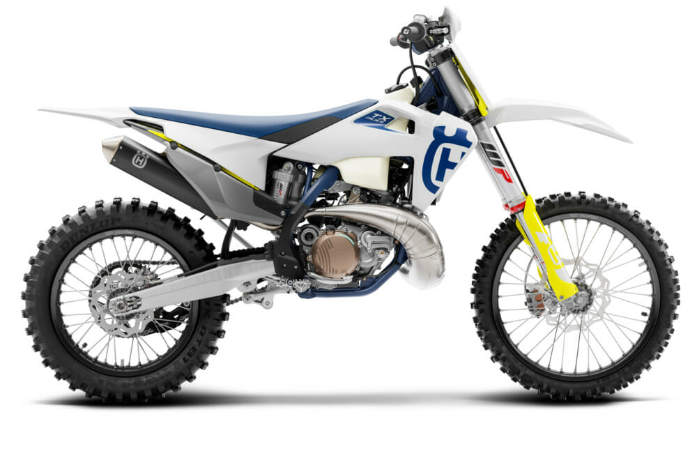The right side of the 2020 Husqvarna TX 300i