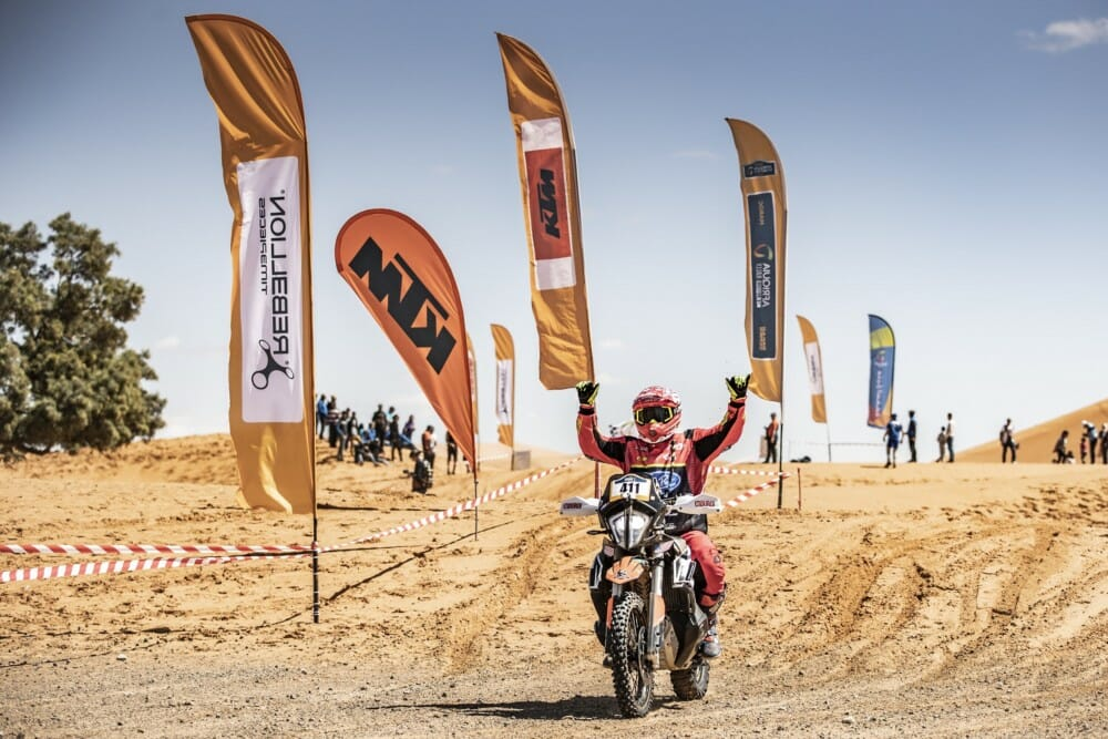 Scott Myers finishes the KTM Ultimate Race