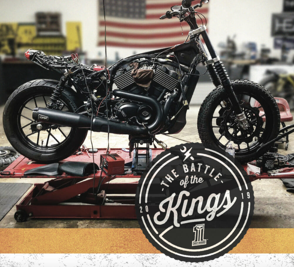 """Harley-Davidson Teams With Local Trade Schools for """"Battle of the Kings"""" Custom Bike Build Competition"""