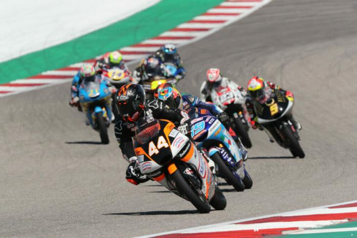 COTA MotoGP Results 2019 moto3 Canet wins