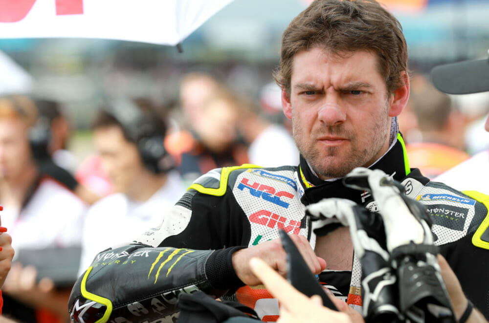 Did Cal Crutchlow's penalty at the Argentine MotoGP fit the crime? Crutchlow certainly doesn't think so. Photo: Gold & Goose
