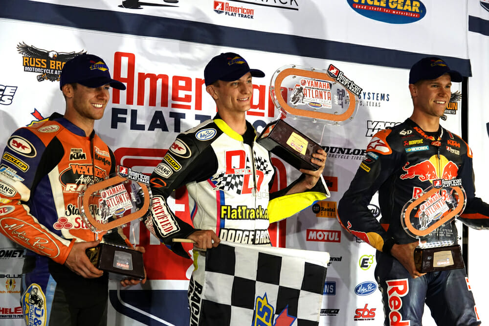 Cycle News catches up with Flat Track Racer Dalton Gauthier at the Atlanta Short Track to find out how he plans to face the future.