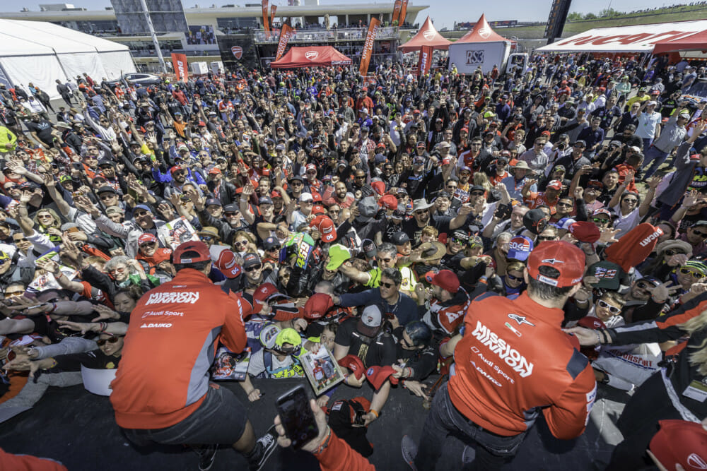 Ducati Event at Circuit of the Americas Shines as Attraction of North American MotoGP Race