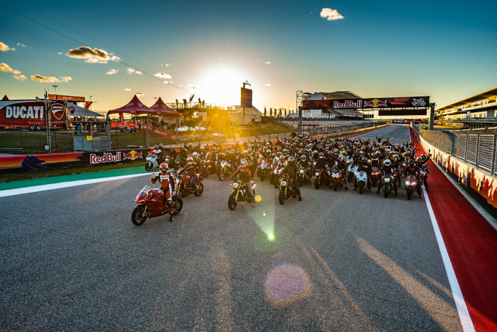 Ducati Island Proves Thrilling Oasis for Enthusiastic Attendees of Texas' MotoGP Race Weekend