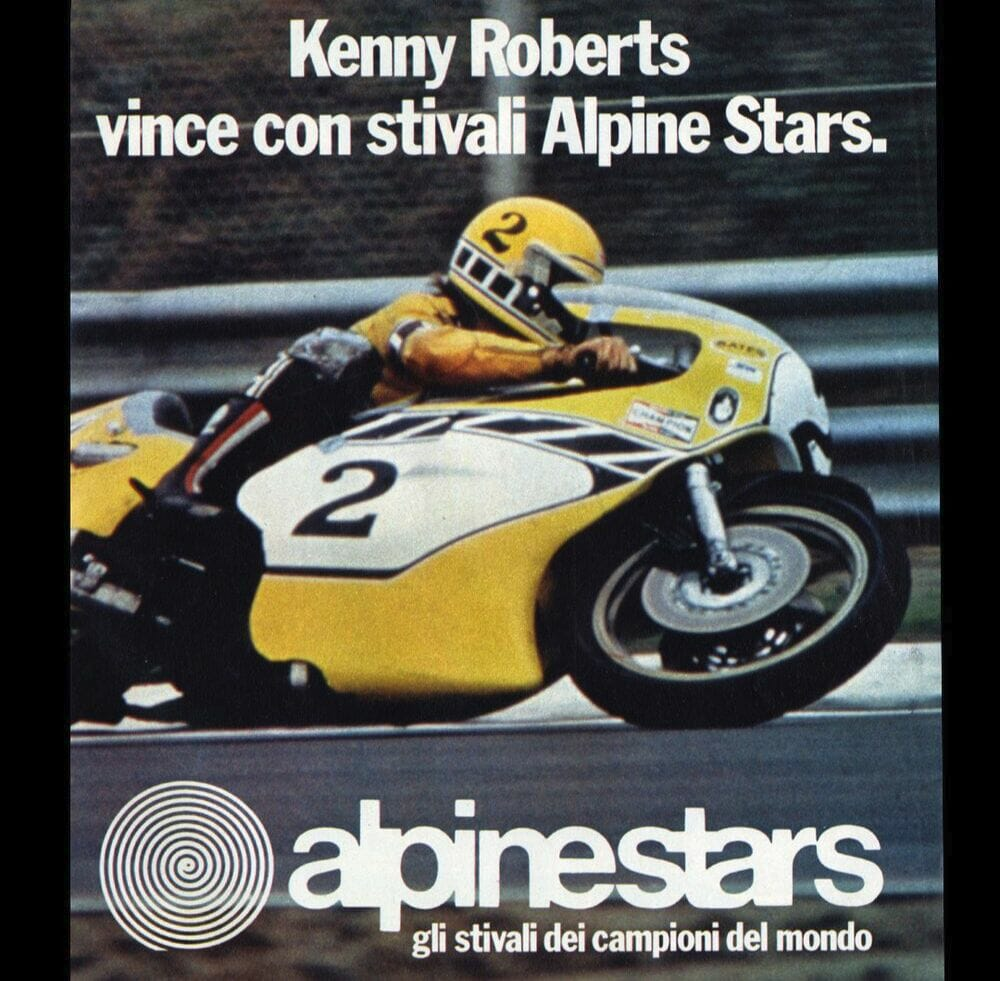 Alpinestars Limited Edition Kenny Roberts Sr. Supertech R Race Replica Boots