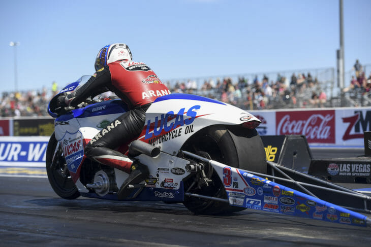 Las Vegas NHRA Pro Stock Motorcycle Results 2019