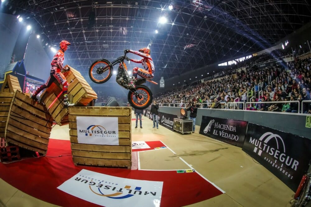 Takahisa Fujinami took fifth overall position at Andorra X-Trial.