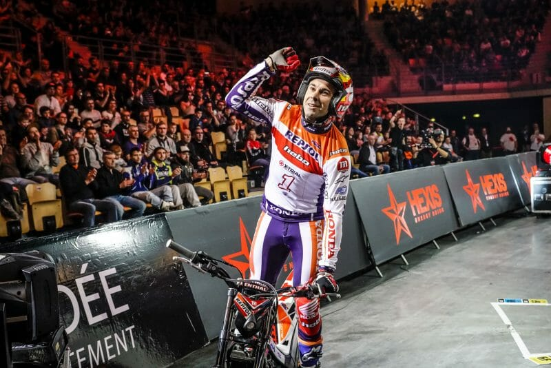 world title for Toni Bou