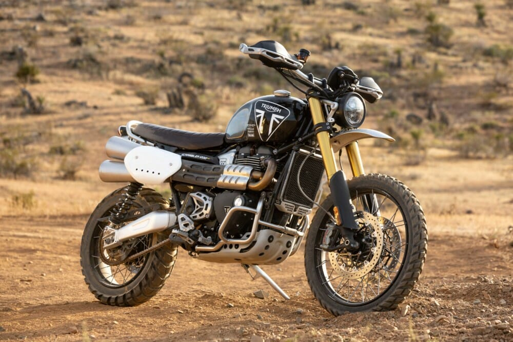 Ernie Vigil To Race Triumph's New Scrambler 1200 XE at the Grueling Mexican 1000