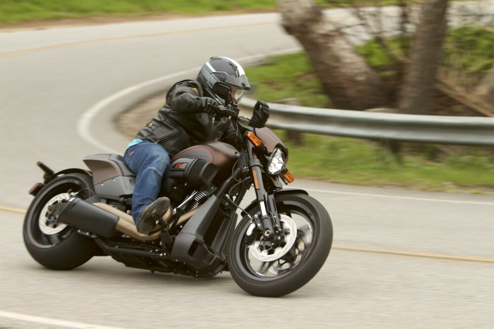 The 2019 Harley-Davidson FXDR 114 is optimized for performance.