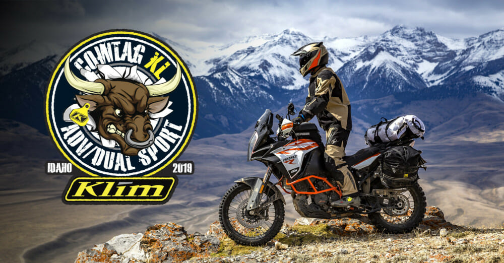 2019 KLIM Cow Tag XL Dual-Sport ADV Ride