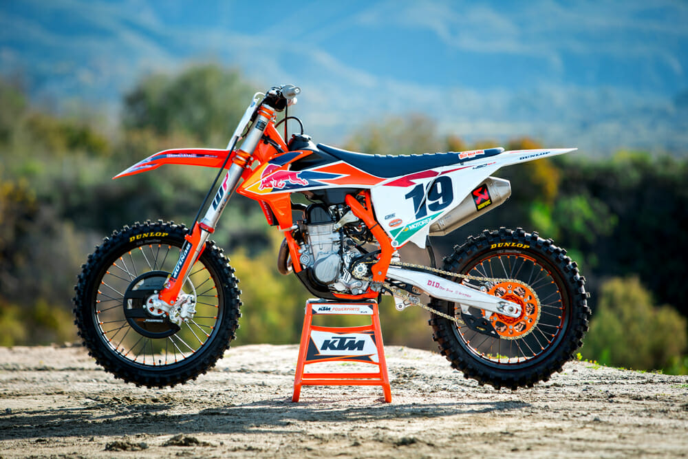 2019 KTM 450 SX-F Factory Edition Specifications