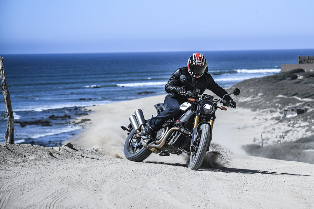 Cycle News reviews the 2019 Indian FTR 1200