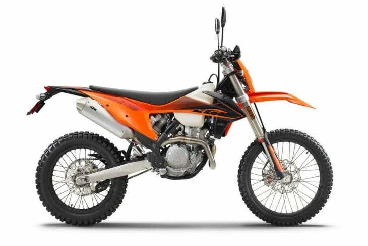 2020 KTM EXC-F Dual Sport First Look