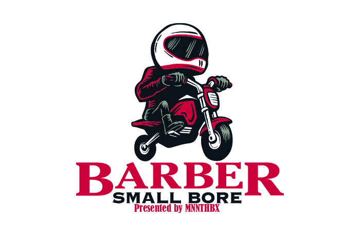 Barber Small Bore Motorcycle Event logo.