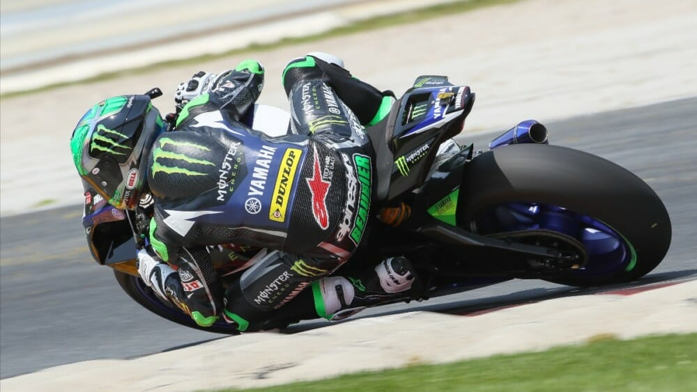 Cameron Beaubier ended up with the fastest lap in the EBC Superbike class on Friday at Road America. Beaubier will lead the way into Saturday's Superpole session.|Photo by Brian J. Nelson