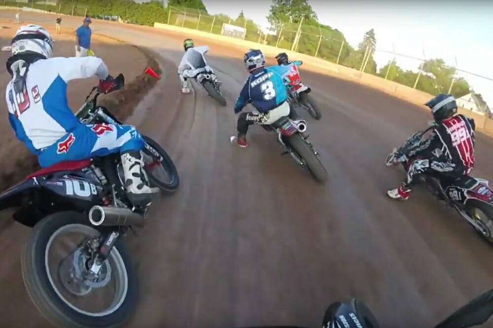 Wisconsin amateur motorcycle racing