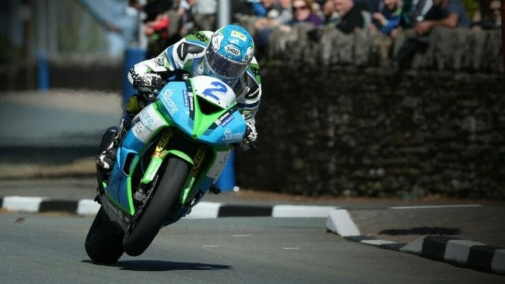 Dean Harrison was quickly on the pace in the rescheduled qualifying session of the 2019 Isle of Man TT Races