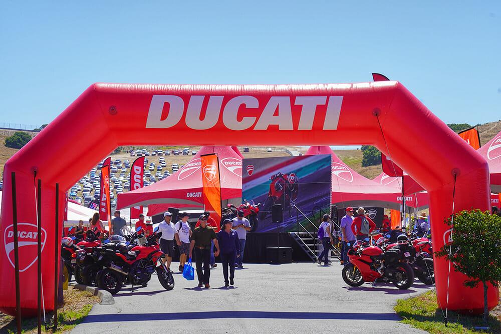 Ducati Island Returns to Laguna Seca for World Superbike Weekend