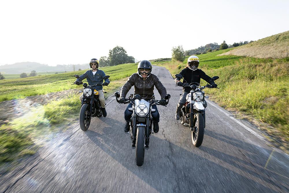 Ducati-Scramblers