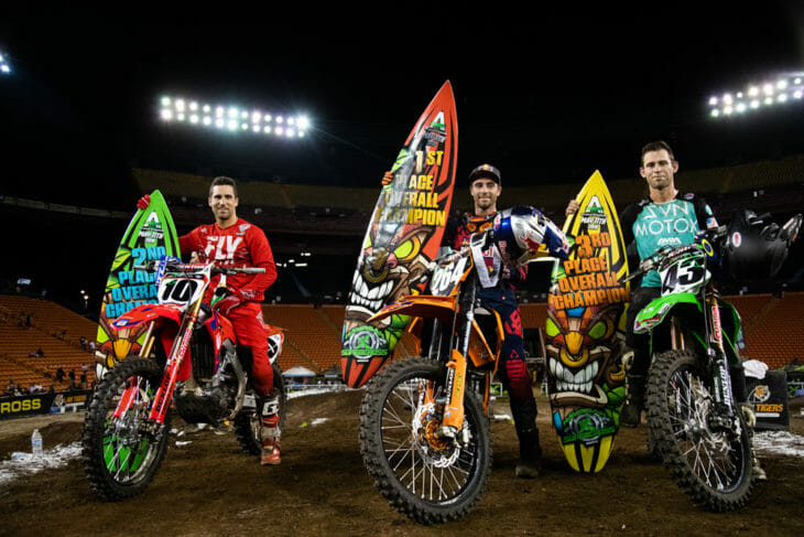 2019 Hawaiian Supercross Podium