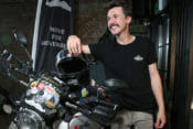 Henry Crew raised more than £10,000 for the Movember Foundation along the way.