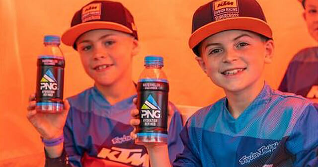 KTM'S Orange Brigade and Junior racing Programs Announce Partnership With Pinnacle Nutrition Group