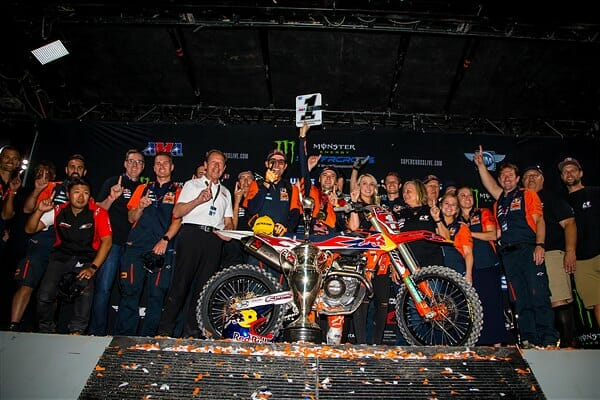 Las Vegas Supercross Results 2019
