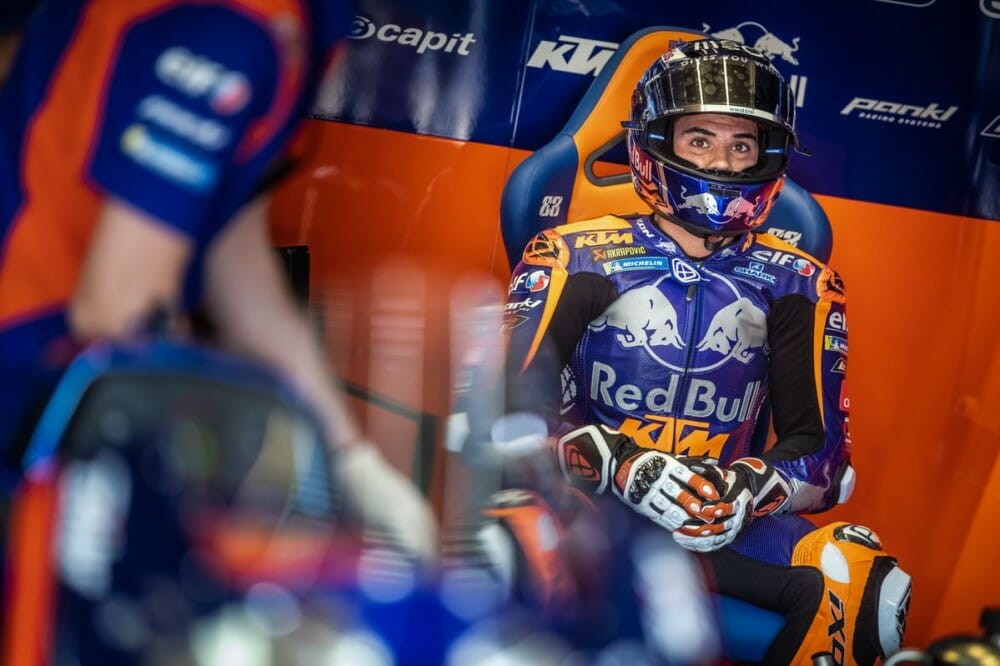 Miguel Oliveira To Stay With Ktm For 2020 Motogp Cycle News