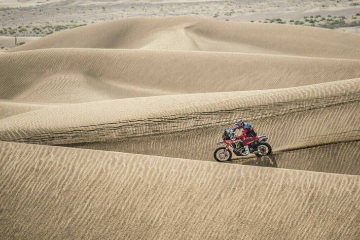 Monster Energy Honda Team Dakar 2020 news