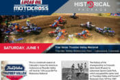 Pro MX Thunder Valley National Historic Notes Package