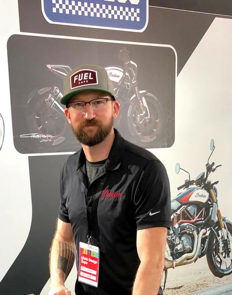 2019 Indian FTR 1200 designer Rich Christoph