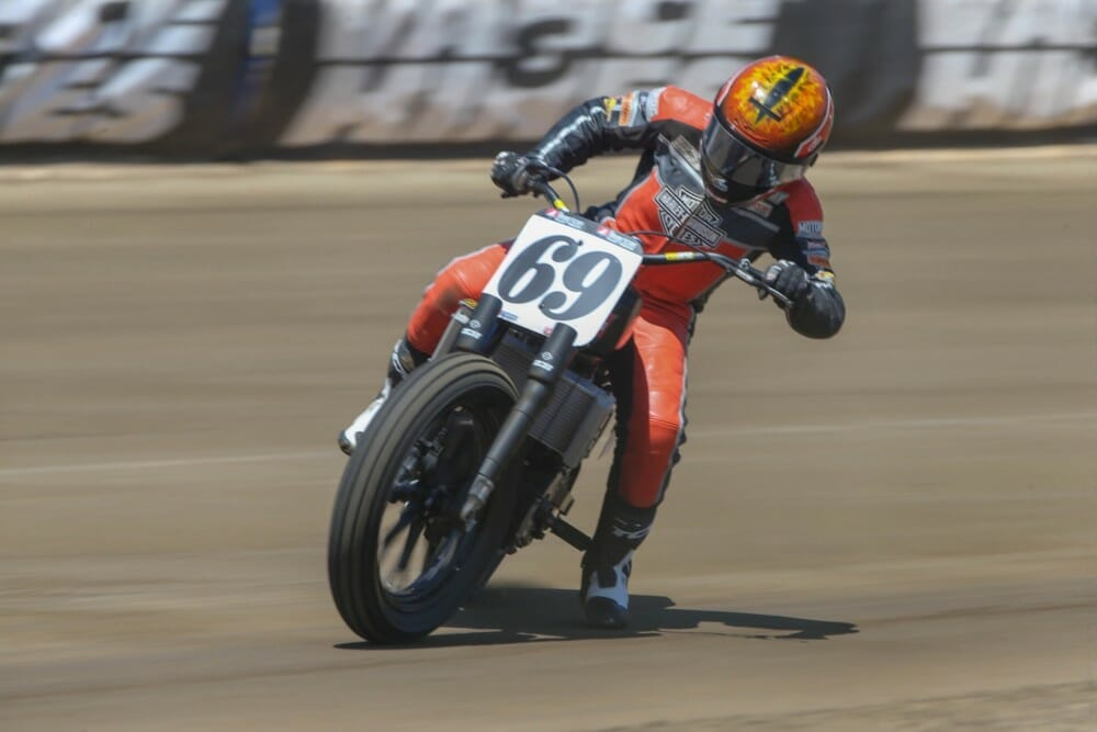 Sammy Halbert Photo Credit: Scott Hunter/American Flat Track