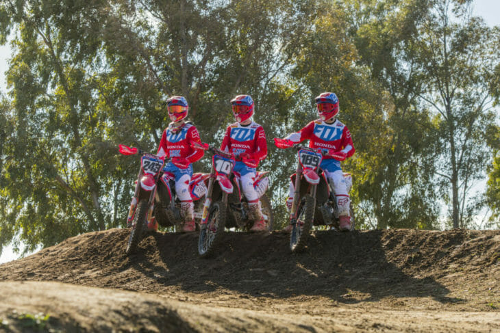 Team HRC returns to Italy for the fifth round of the 2019 MX World Championships with Tim Gajser, Brian Bogers and Calvin Vlaanderen