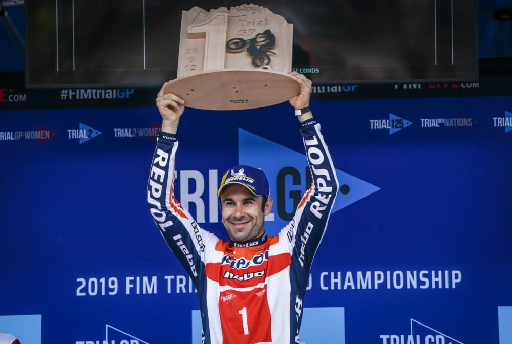 TrialGP of Italy Race Report from Honda Racing Corporation | Toni Bou opens the TrialGP World Championship with victory in Italy