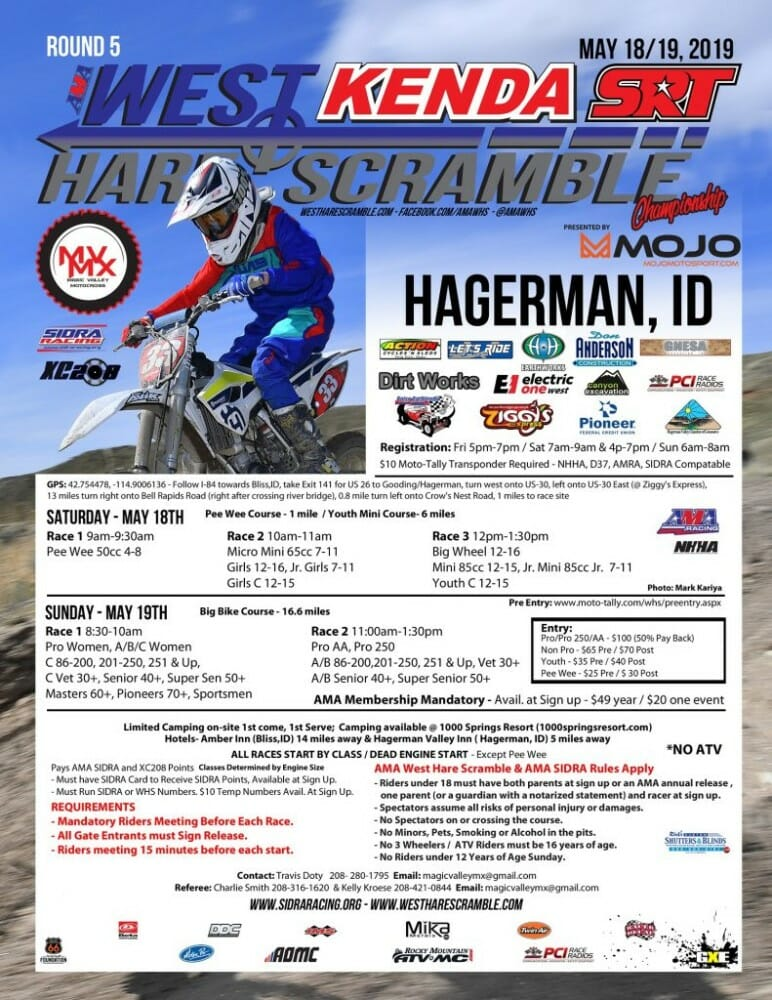 Hagerman West Hare Scramble