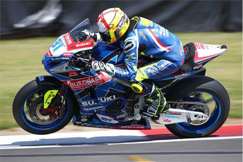 Team Suzuki Donington BSB Superstock 1000 Race Update