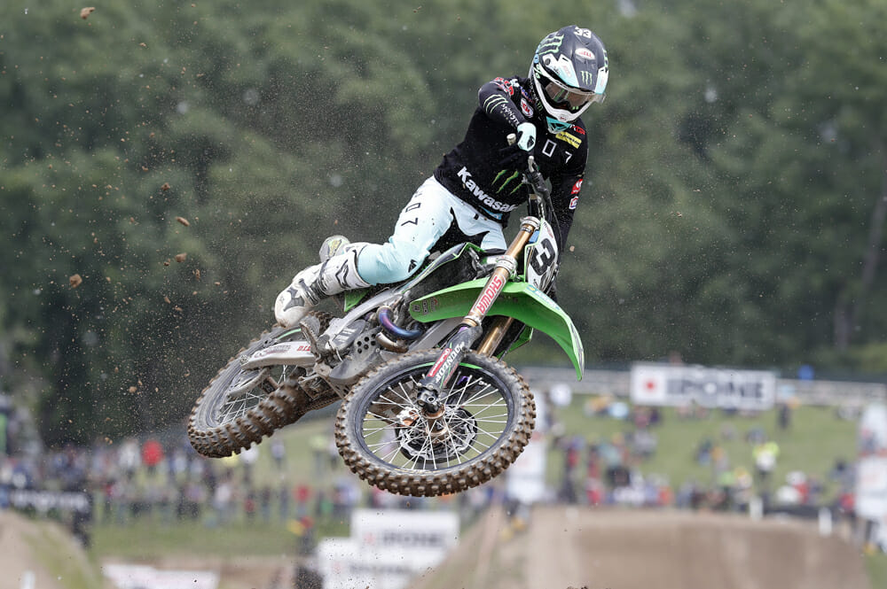 Monster Energy Kawasaki Racing Team narrowly missed the podium at Grand Prix of Lombardy at Mantova